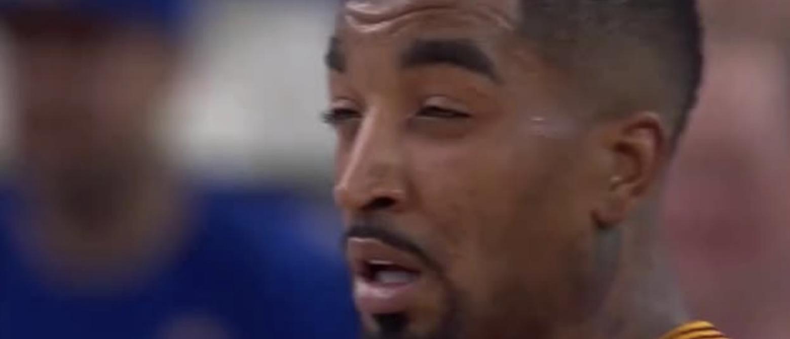 媒体发图调侃JR:什么?我们还没赢?