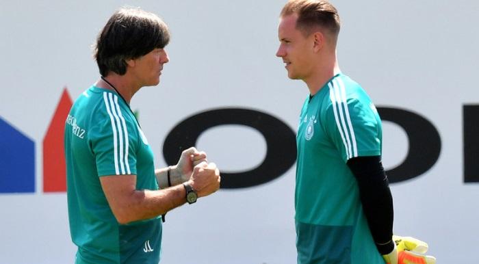 勒夫与特尔施特根谈话:他已经成长为一名优秀的门将