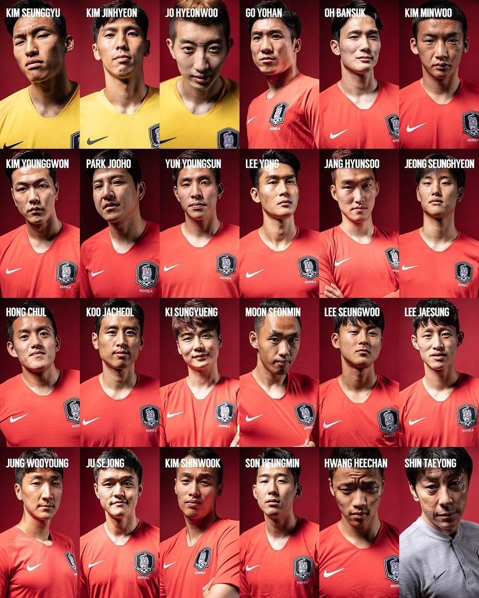 韩国世界杯23人大名单:孙兴慜领衔,金英权入选,权敬源无缘