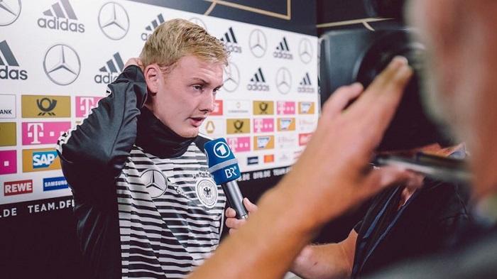 布兰特谈输球:希望德国队只是今天状态不佳
