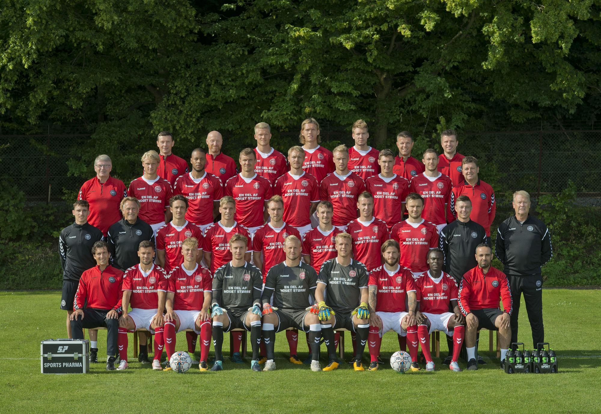 丹麦队23人名单公布:埃里克森领衔,本特纳因伤落选