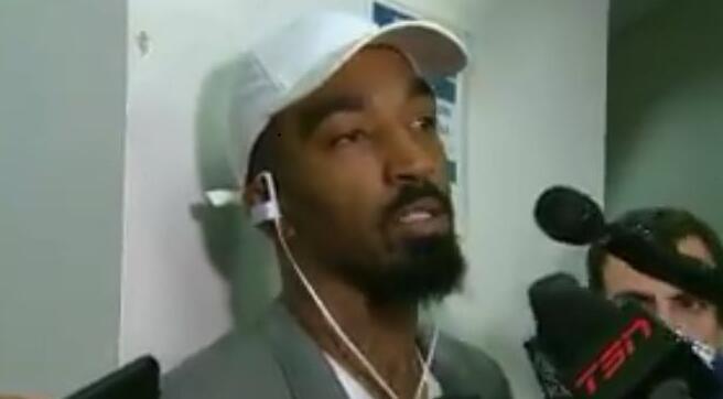 JR谈自己的表现:很糟糕,投篮和防守都要更好一些