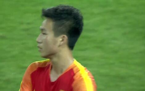 GIF:李帅造点姚均晟命中!U23国足2-0纳米比亚