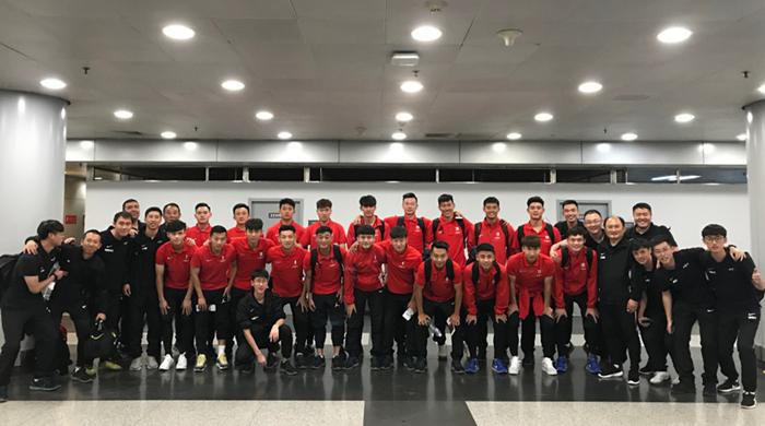 U21国青土伦杯首发:张岩张凌峰先发,谢维军突前