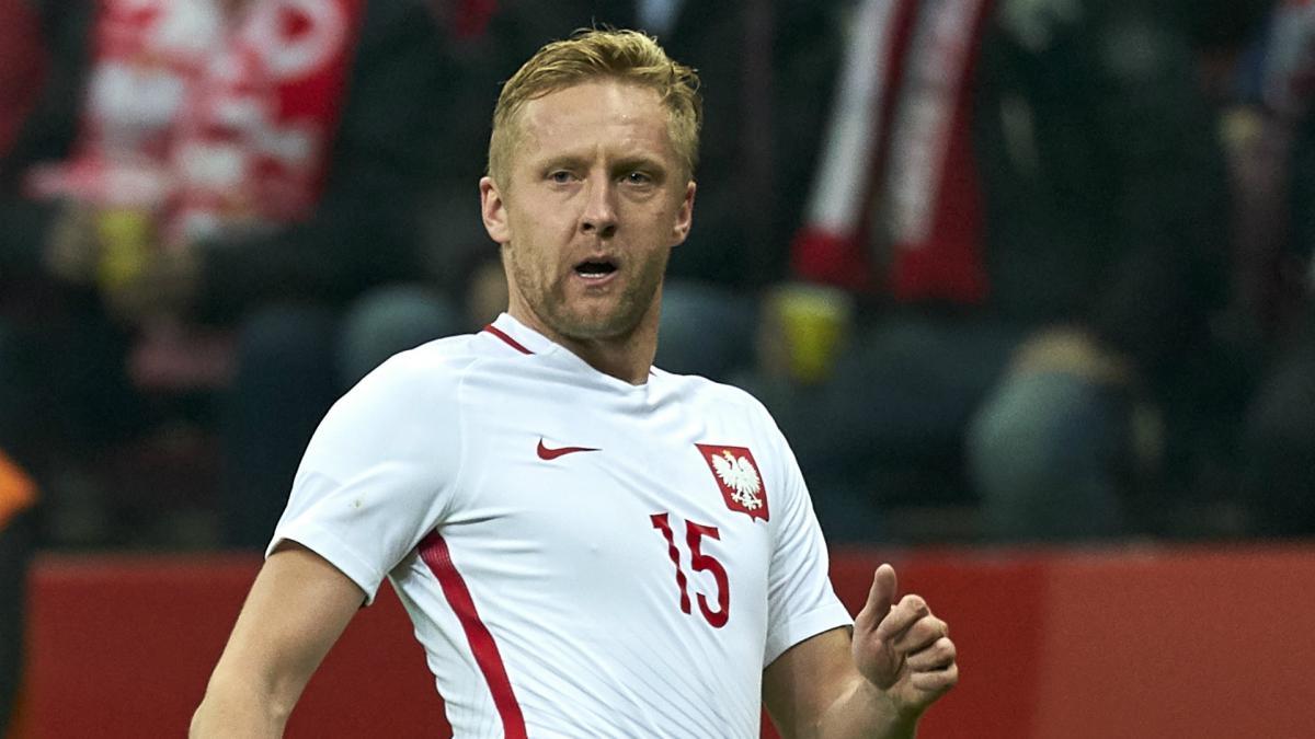 太不走运!波兰后卫格利克网式足球伤到肩膀,无缘世界杯