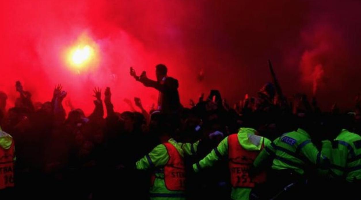 罗马因对利物浦球迷骚乱被罚款5万欧元