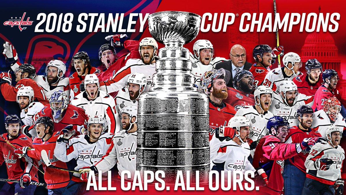 华盛顿首都人队勇夺NHL冠军,NBA众球员发推祝贺