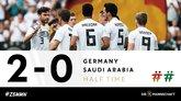GIF:奥马尔乌龙,德国2-0沙特
