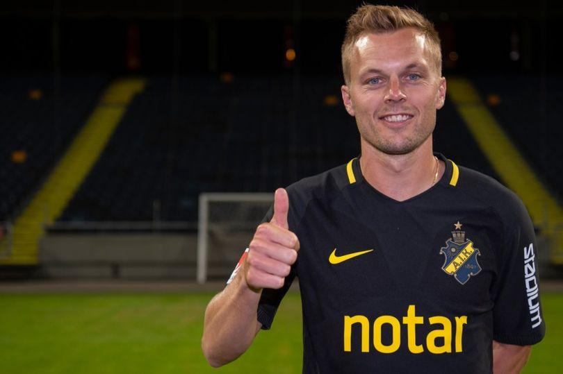 官方:英超名将拉尔森加盟瑞典联赛球队AIK