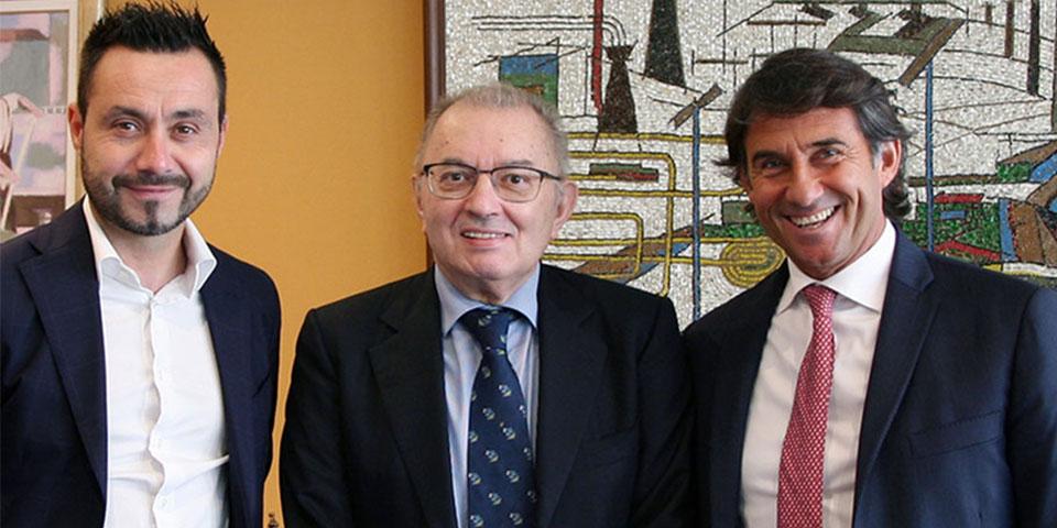 官方:萨索洛宣布任命德泽尔比为球队新任主帅