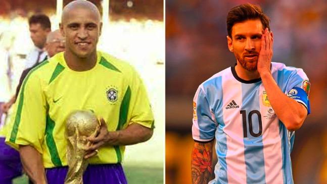卡洛斯:如果梅西是巴西人,他早拿到世界杯了
