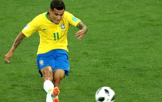 库蒂尼奥穿云箭内马尔屡遭侵犯,巴西1-1瑞士