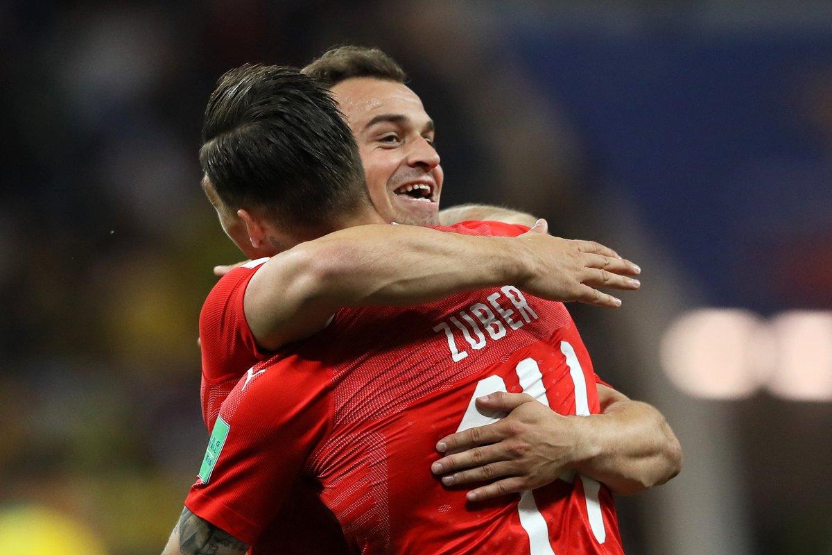 十字军团!瑞士近23场比赛仅负于葡萄牙