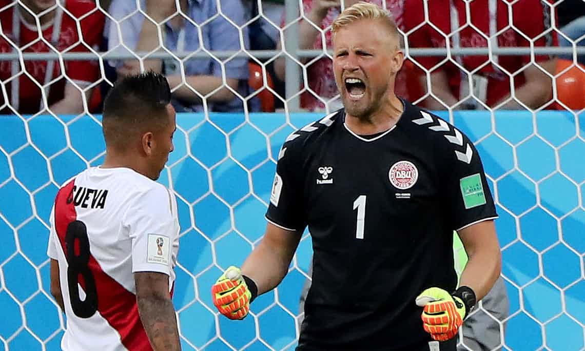 365足球直播:丹麦门将小舒梅切尔零封了对手。