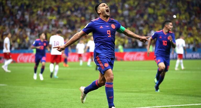 法尔考夸德拉多破门J罗两助攻,哥伦比亚3-0送波兰出局