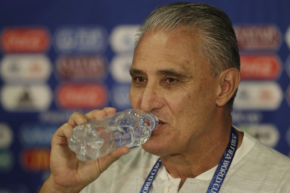 蒂特:巴西的首发阵容不变,理解内马尔赛后落泪