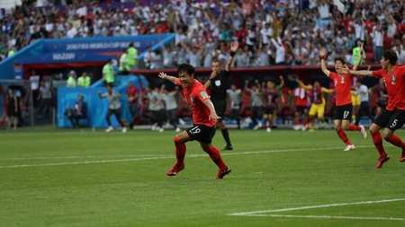 力克卫冕冠军,韩国战胜德国展现亚洲之光
