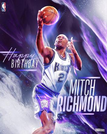 NBA官方祝名人堂成员里奇蒙德53岁生日快乐