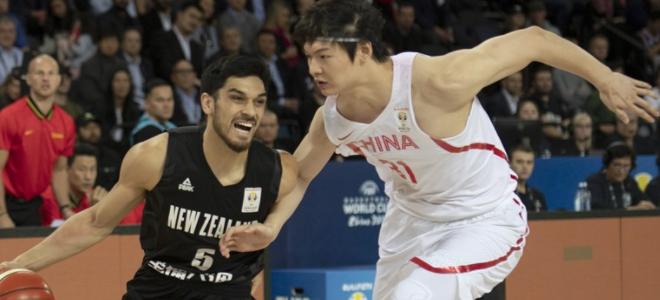 阿不都23+11,中国男篮10分惜败新西兰