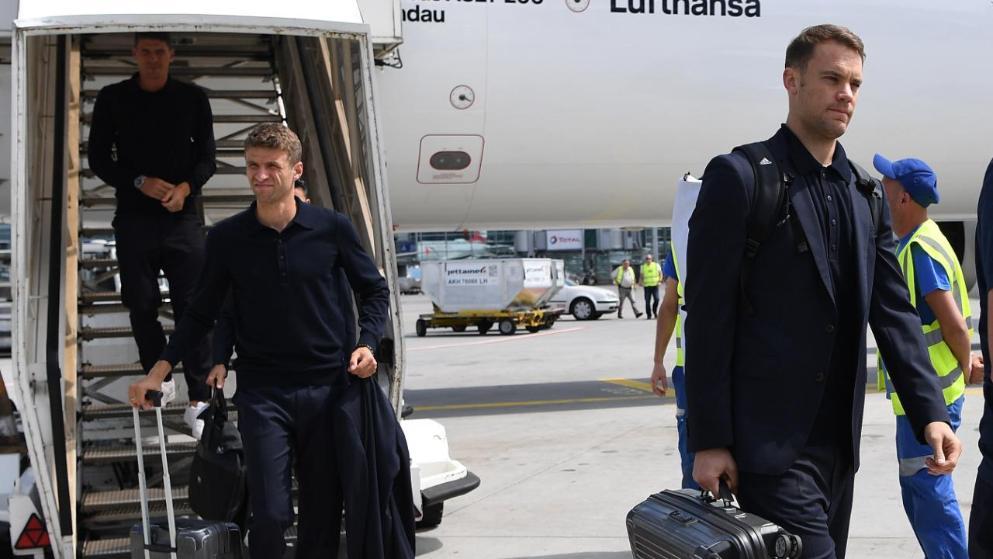 拜仁德国脚将提前归队,可出战与尤文曼联友谊赛