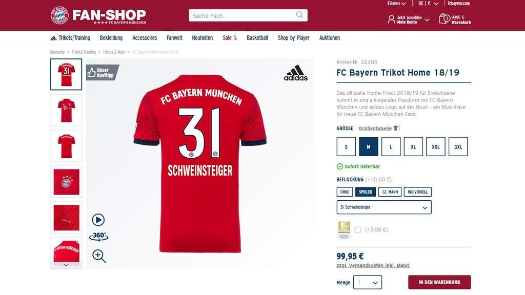 德媒:拜仁重新开售小猪球衣,庆祝小猪告别赛