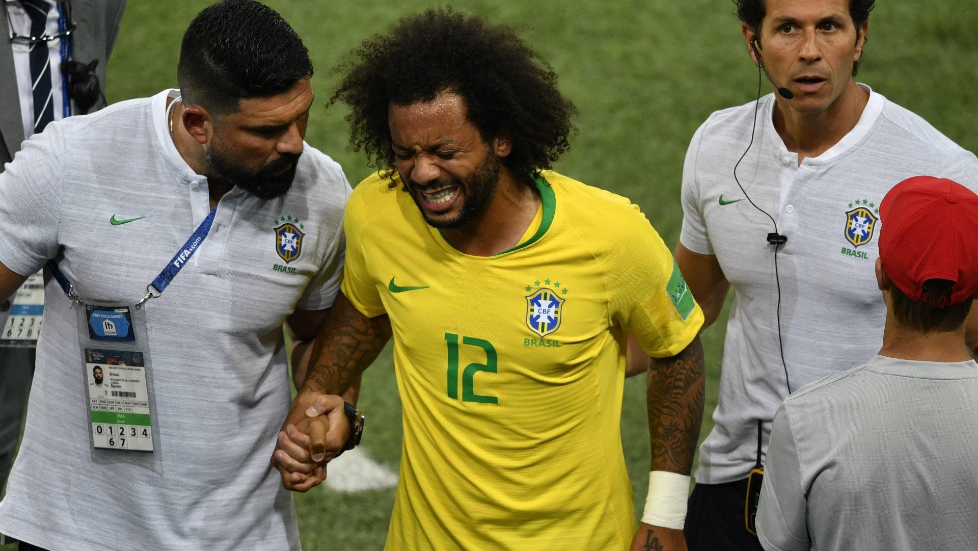 蒂特确认巴西对墨西哥首发,费利佩顶替马塞洛出场