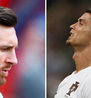 双骄黯淡,C罗梅西世界杯淘汰赛总共48脚射门无功而返