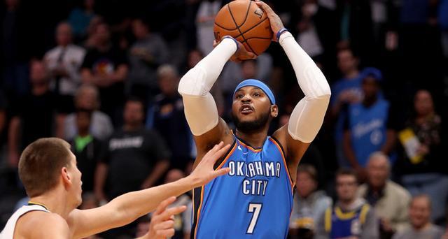 一些NBA球员相信雷霆会买断安东尼的合同