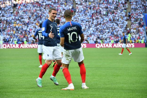 格列兹曼:姆巴佩让比赛变得不同;这支法国队很难被击败
