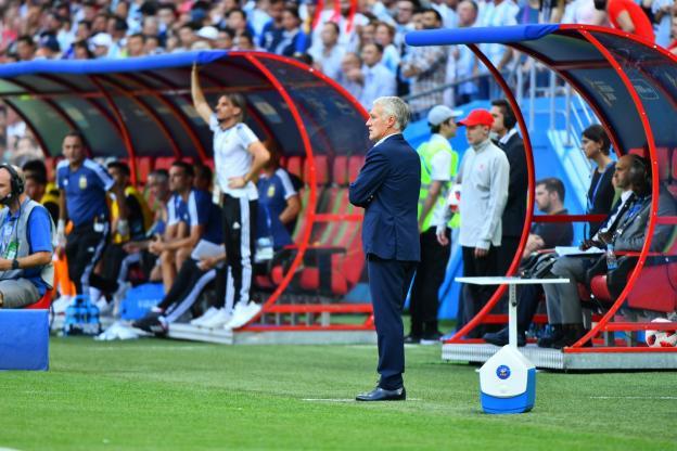 德尚:乌拉圭更接近于秘鲁,此前输哥伦比亚的教训有帮助
