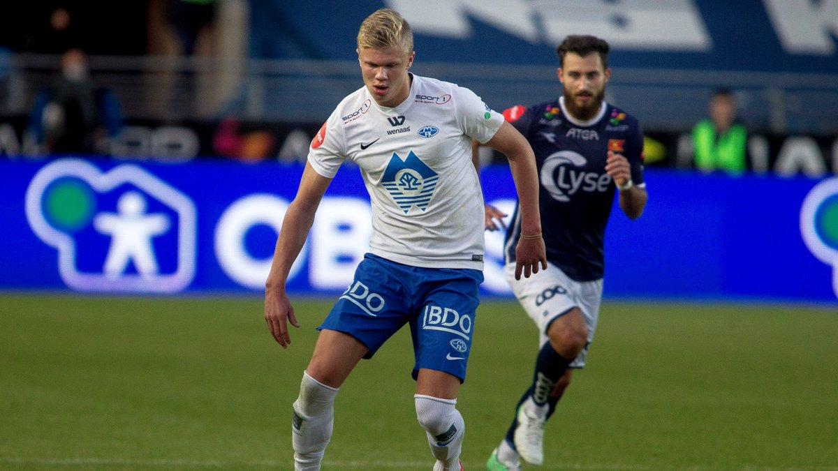 20分钟攻入4球!17岁挪威前锋征服曼联球探