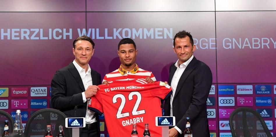 格纳布里:希望利用拜仁的大平台重回德国队