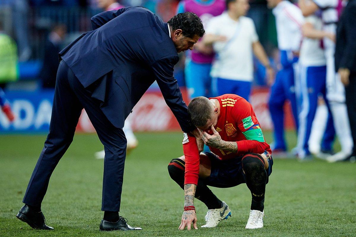 临阵换帅,4战仅一胜,夺冠热门西班牙无缘世界杯八强