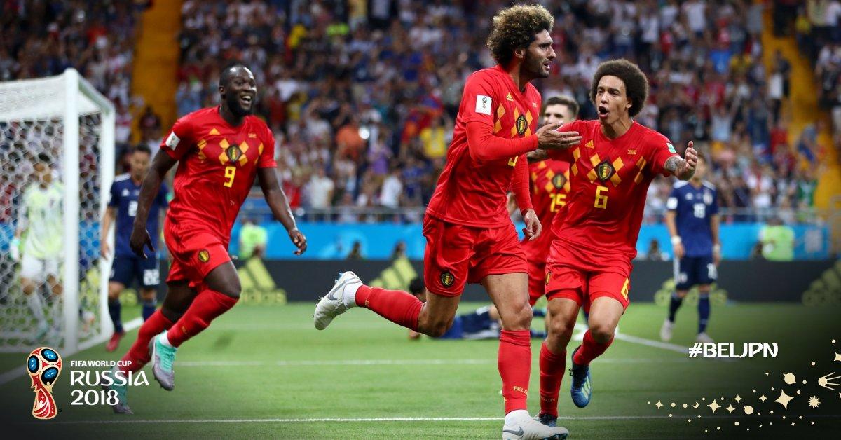 比利时历史首次连续两届世界杯打入8强