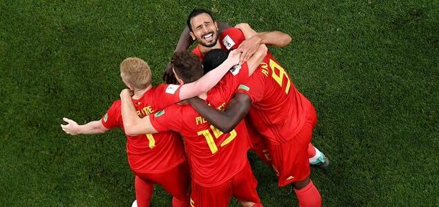 沙兹利压哨绝杀,比利时两球落后3-2逆转日本