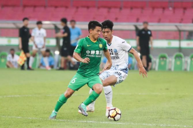 教学赛:王子铭、巴坎布建功,北京国安2-0大连超越