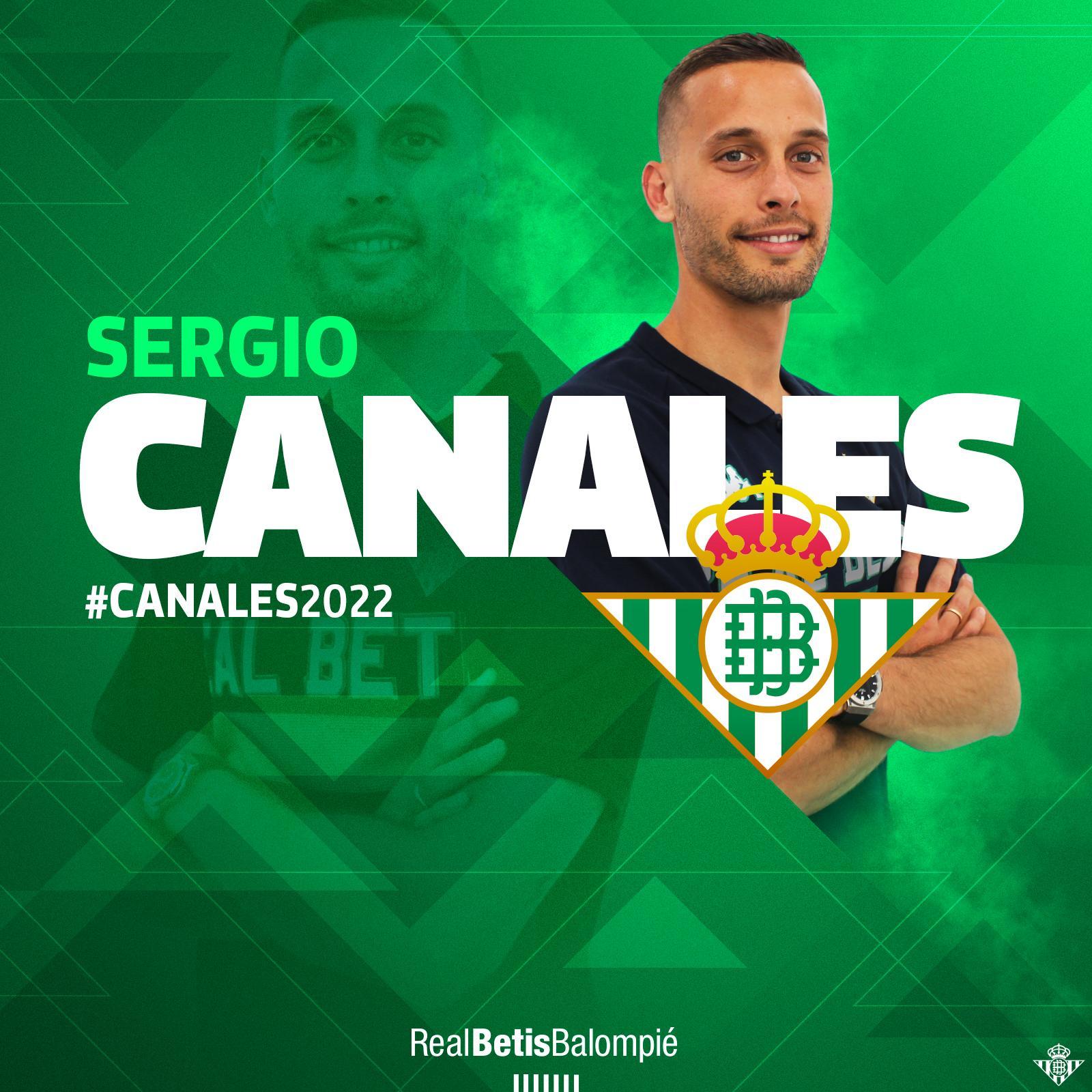 官方:西班牙中场卡纳莱斯自由加盟皇家贝蒂斯