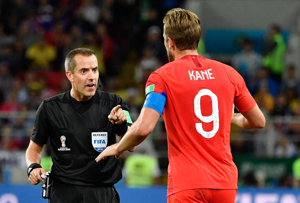 凯恩90分钟内被侵犯9次,本届世界杯仅次于内马尔