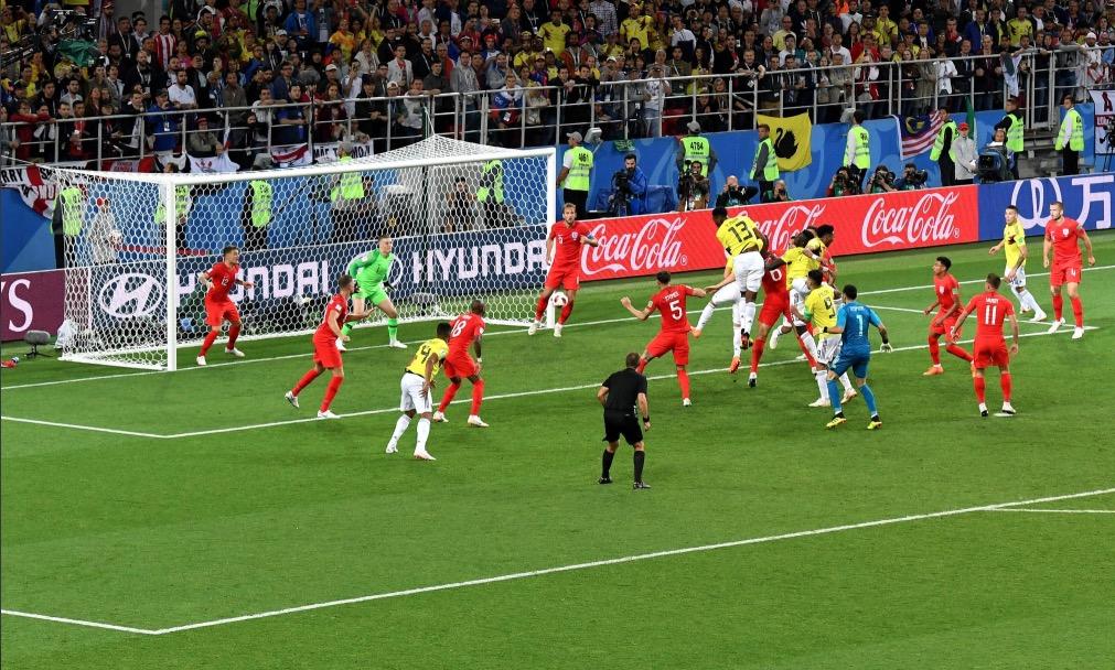 黑色3分钟,英格兰首次在世界杯下半场补时阶段丢球