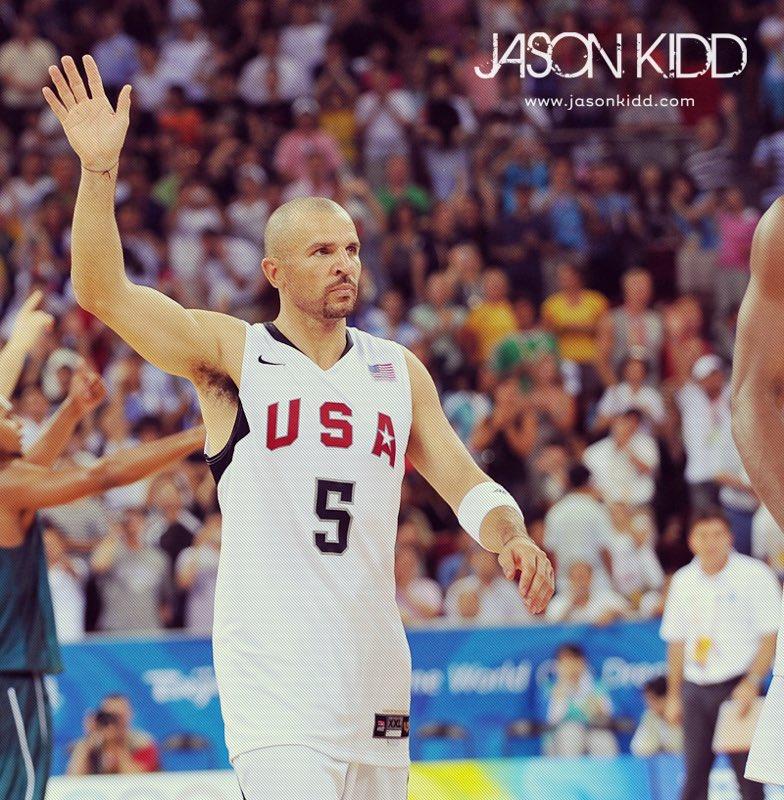 基德宣布 本身身穿美国队球衣的照片:这是一种光荣