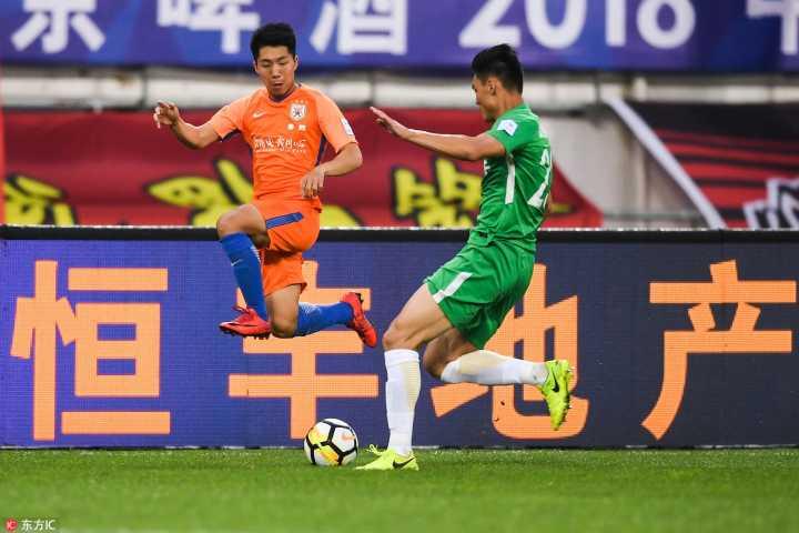 半场:王大雷拒单刀戴琳门线解围,贵州0-0鲁能