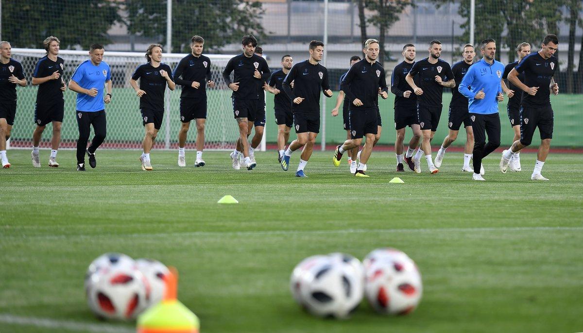 365体育小编提供克罗地亚国家队集训照片