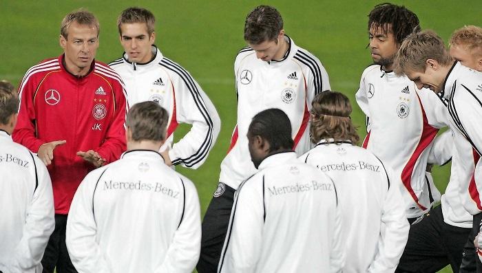 克林斯曼:这支英格兰和2006年的德国队很像
