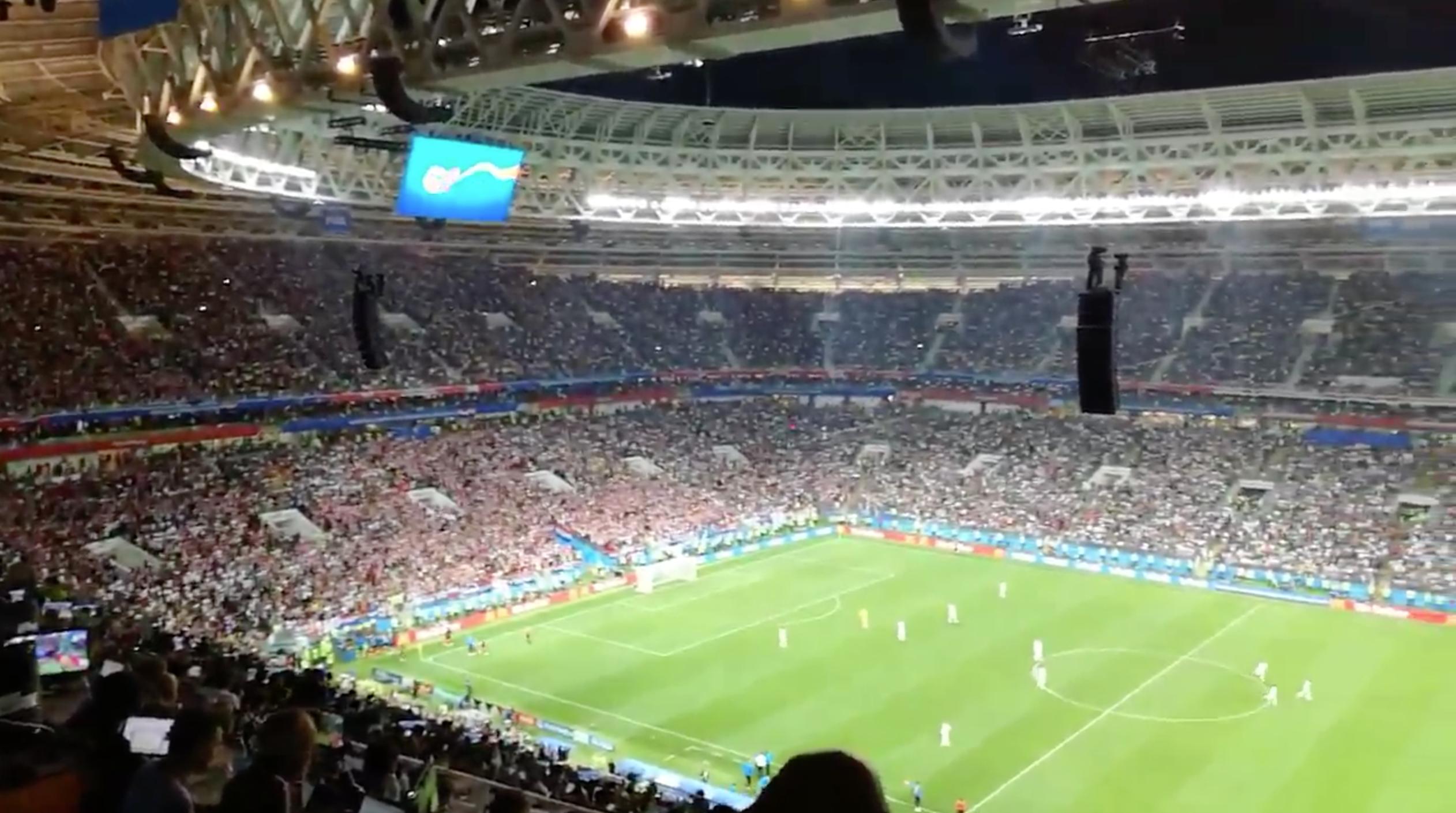 这也可以?英格兰球员趁克罗地亚庆祝时开球进攻