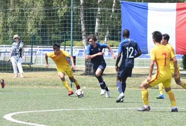 U19热身:周俊辰徐皓阳陶强龙破门,中国3-5法国