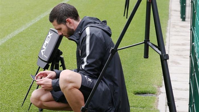 实时监控球员训练数据,莱比锡训练中引入高科技
