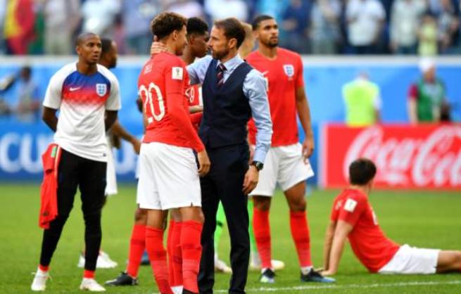 索思盖特:球员们尽了全力,我们输给的是巅峰比利时队