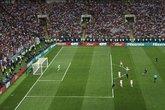 法国本届世界杯29脚射正14粒进球,为1966年来最高