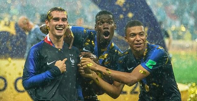 博格巴决赛前演讲:让法国同胞记住我们