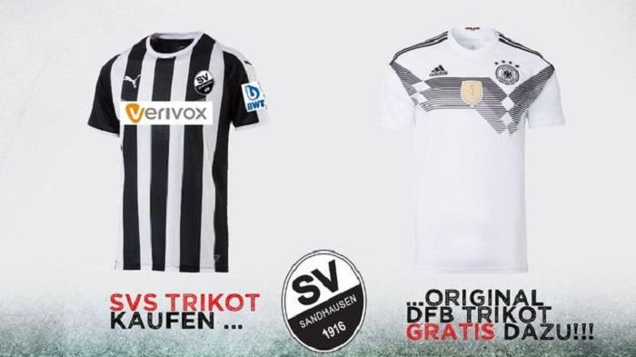 买一送一!德乙球队出售队服赠送德国队球衣